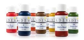Pigmenten worden gebruikt door PMU Design Permanente Make Up specialiste